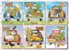 Farmer's Market Trucks 1000pc jigsaw puzzle by Cobble Hill Puzzle Co.