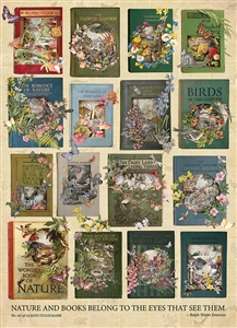 The Nature of Books 1000pc jigsaw puzzle by Cobble Hill Puzzle Co.