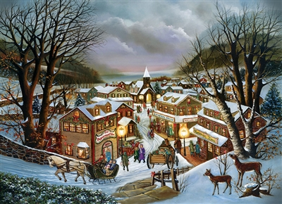 I Remember Christmas 1000 Piece Puzzle by Cobble Hill Puzzle Co