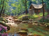 Fishing Cabin 1000 Piece Puzzle by Cobble Hill Puzzle Co