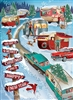 Christmas Campers 1000 Piece Puzzle by Cobble Hill Puzzle Co