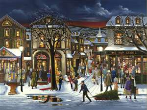 500pc Tis the Season jigsaw puzzle | Cobble Hill Puzzle Company