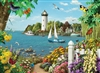 By the Bay 500pc jigsaw puzzle by Cobble Hill Puzzle Co.
