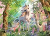Unicorn in the Woods 500pc jigsaw puzzle by Cobble Hill Puzzle Co.