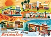 Four Seasons of Mid-Century Living 500 Piece Puzzle by Cobble Hill Puzzle Co