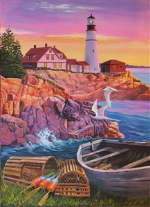 275pc Lighthouse Cove jigsaw puzzle | Cobble Hill Puzzle Company