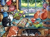 275pc Cats Retreat jigsaw puzzle | Item 88019 | Cobble Hill Puzzle Company