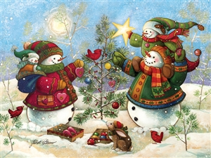 275pc Easy Handling Holiday Sparkle jigsaw puzzle by Cobble Hill Puzzle Co. (large pieces)