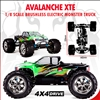 Redcat Racing Avalanche XTE 1/8 Scale Brushless Electric Truck