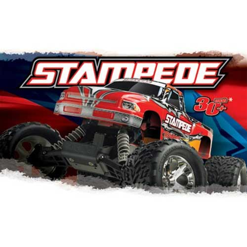 Stampede Monster Truck Rtr With Xl 5 By Traxxas Electric