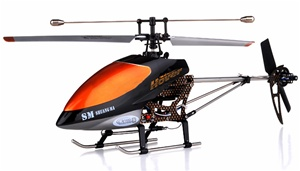Double Horse Metal 9100  Electric RTF RC GYRO Helicopter