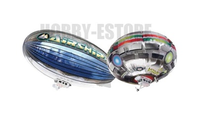 Megatech Radio Control 4CH Electric Airship Blimps w/ Lights RTF