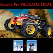 2.4 Ghz 1:8 Himoto Rancho Pro 28 SH CXP Engine Nitro Powered Off Road Monster Truck