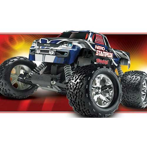 1:10 Scale 2WD Traxxas Monster Truck NITRO STAMPEDE TRA4109