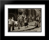 American Girl in Italy 2x Matted 18x15 Black Modern Framed Art Print by Ruth Orkin