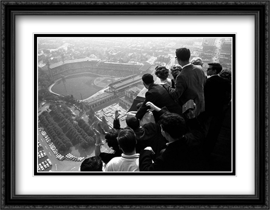 World Series, Pittsburgh, 1960 2x Matted 32x26 Large Gold or Black or Gold Ornate Framed Art Print by George Silk