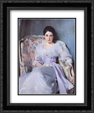 Lady Agnew 20x24 Black or Gold Ornate Framed and Double Matted Art Print by John Singer Sargent