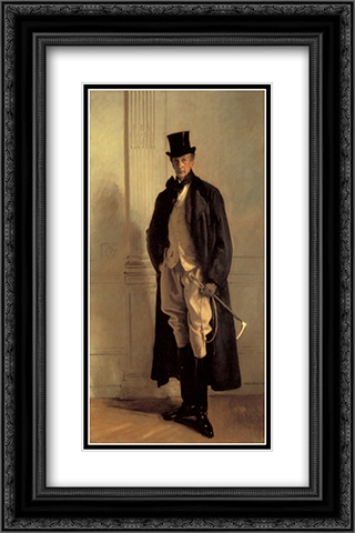 Lord Ribblesdale 16x24 Black or Gold Ornate Framed and Double Matted Art Print by John Singer Sargent