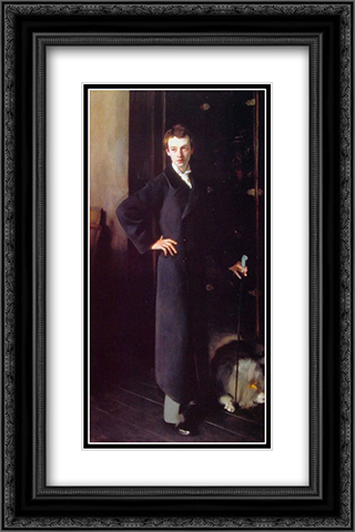 W. Graham Robertson 16x24 Black or Gold Ornate Framed and Double Matted Art Print by John Singer Sargent