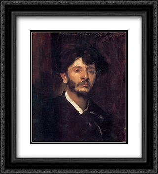 Jean-Joseph-Marie Carries 20x22 Black or Gold Ornate Framed and Double Matted Art Print by John Singer Sargent