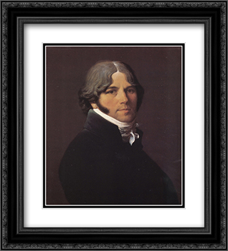 Jean-Marie-Joseph Ingres 20x22 Black or Gold Ornate Framed and Double Matted Art Print by Jean Auguste Dominique Ingres