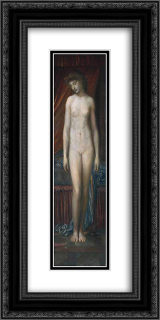 Psyche 12x24 Black or Gold Ornate Framed and Double Matted Art Print by George Frederick Watts