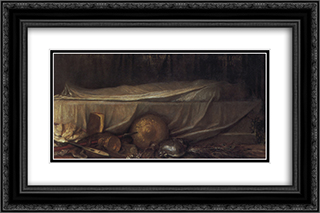 Sic Transit' 24x16 Black or Gold Ornate Framed and Double Matted Art Print by George Frederick Watts