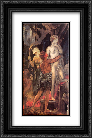 Messalina 16x24 Black or Gold Ornate Framed and Double Matted Art Print by Gustave Moreau
