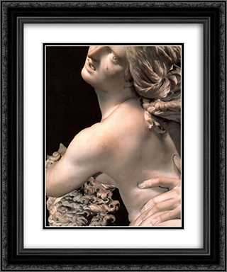 Rape of Proserpine [detail: 1] 20x24 Black or Gold Ornate Framed and Double Matted Art Print by Gian Lorenzo Bernini