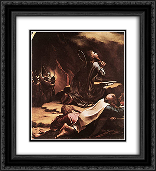 The Passion [detail: 1] 20x22 Black or Gold Ornate Framed and Double Matted Art Print by Hans Holbein the Younger