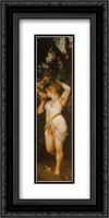 The Five Senses: Smelling 12x24 Black or Gold Ornate Framed and Double Matted Art Print by Hans Makart