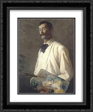 Alexander Harrison 20x24 Black or Gold Ornate Framed and Double Matted Art Print by Cecilia Beaux