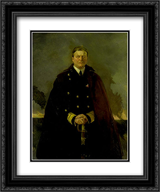 Admiral Sir David Beatty, Lord Beatty 20x24 Black or Gold Ornate Framed and Double Matted Art Print by Cecilia Beaux