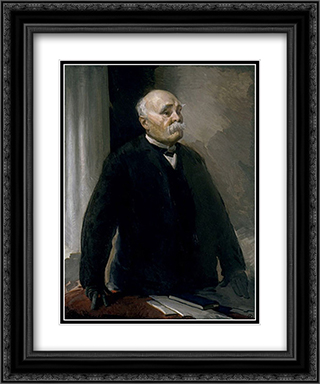 Georges Clemenceau 20x24 Black or Gold Ornate Framed and Double Matted Art Print by Cecilia Beaux