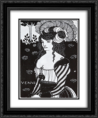 Title page 2 20x24 Black or Gold Ornate Framed and Double Matted Art Print by Aubrey Beardsley