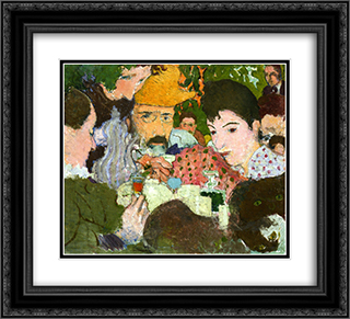 Study for Afternoon in the Garden 22x20 Black or Gold Ornate Framed and Double Matted Art Print by Pierre Bonnard