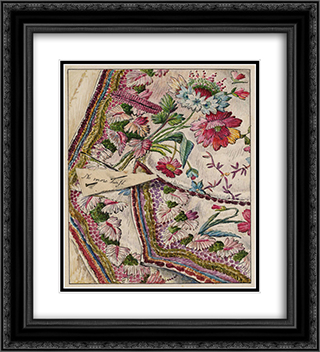 No More Twist 20x22 Black or Gold Ornate Framed and Double Matted Art Print by Beatrix Potter