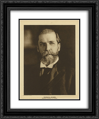 Charles E. Hughes, Republican candidate for president 20x24 Black or Gold Ornate Framed and Double Matted Art Print by LOC-00462u