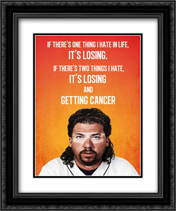Eastbound and Down TV Series Show 20x24 Double Matted Black Ornate Framed Movie Poster Art Print