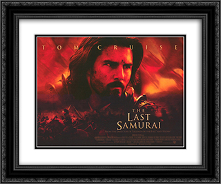The Last Samurai 24x20 Black Ornate Framed and Double Matted Art Print by Movie Poster