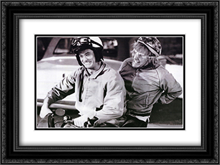 Dumb and Dumber 24x18 Black Ornate Framed and Double Matted Art Print by Movie Poster