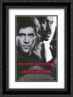 Lethal Weapon 18x24 Black Ornate Framed and Double Matted Art Print by Movie Poster