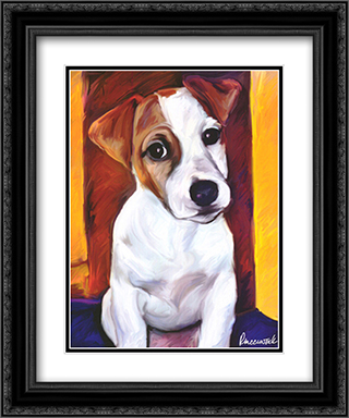 Baby Jack 2x Matted 17x23 Black or Gold Ornate Framed Art Print by Robert McClintock