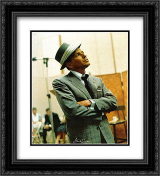 Frank Sinatra (Studio) 2x Matted 20x24 Black or Gold Ornate Framed Art Print