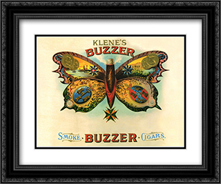 Buzzer 2x Matted 20x24 Black or Gold Ornate Framed Art Print