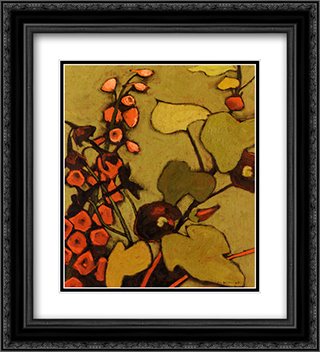 Colours De La Nuit II 2x Matted 20x24 Black or Gold Ornate Framed Art Print by Shirley Novak