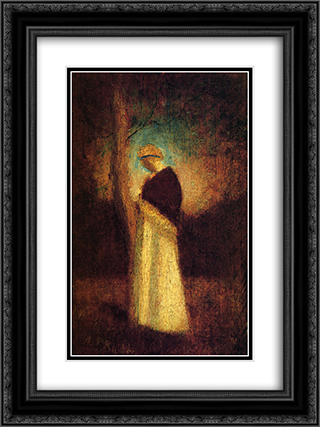 Spirit of Autumn 18x24 Black or Gold Ornate Framed and Double Matted Art Print by Albert Pinkham Ryder