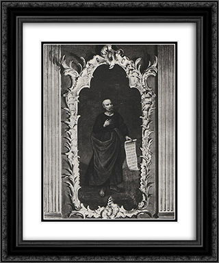 Apostol (St. Peter) 20x24 Black or Gold Ornate Framed and Double Matted Art Print by Aleksey Antropov