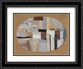 Number 159 24x20 Black or Gold Ornate Framed and Double Matted Art Print by Anne Ryan