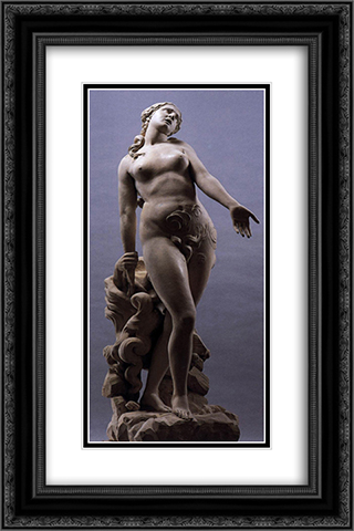 Eurydice 16x24 Black or Gold Ornate Framed and Double Matted Art Print by Antonio Canova